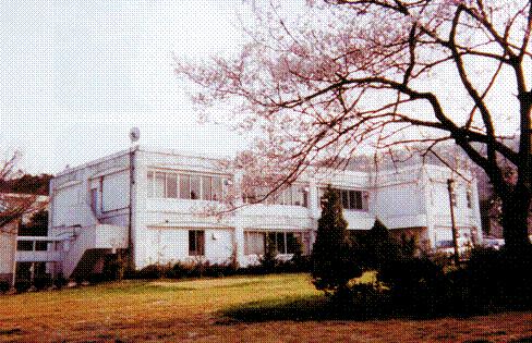 平成14年4月の保健管理センター(川内北キャンパス)の写真を掲載